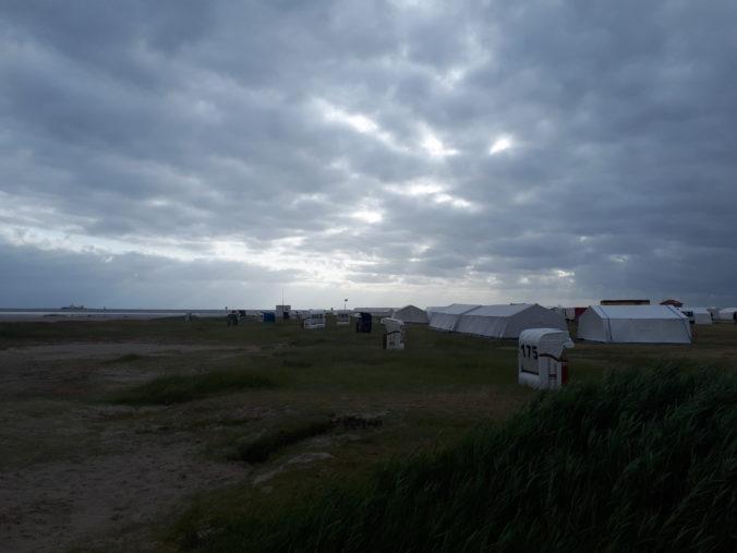 Ansicht Zeltlager